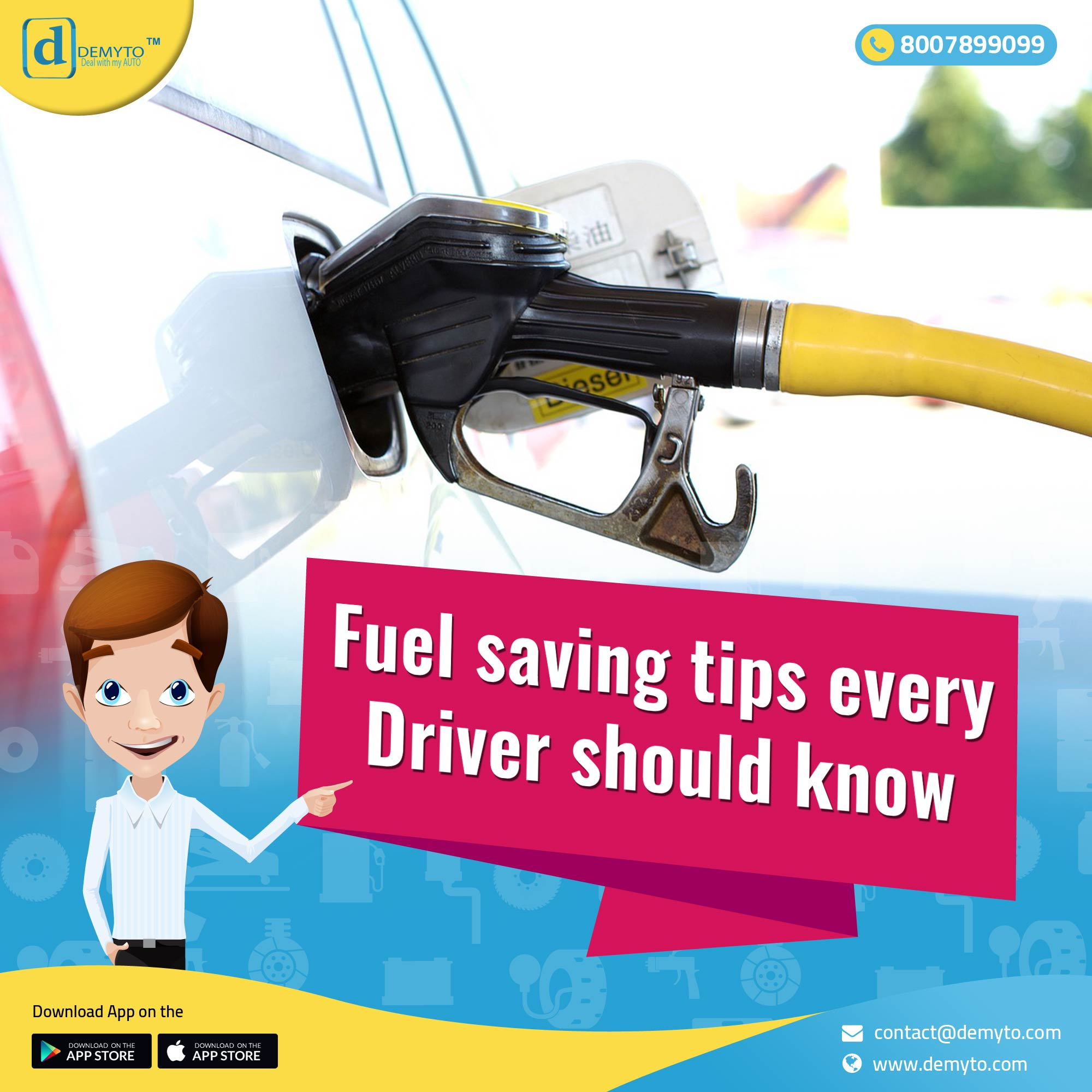 Simple steps to save fuel! The ultimate guide