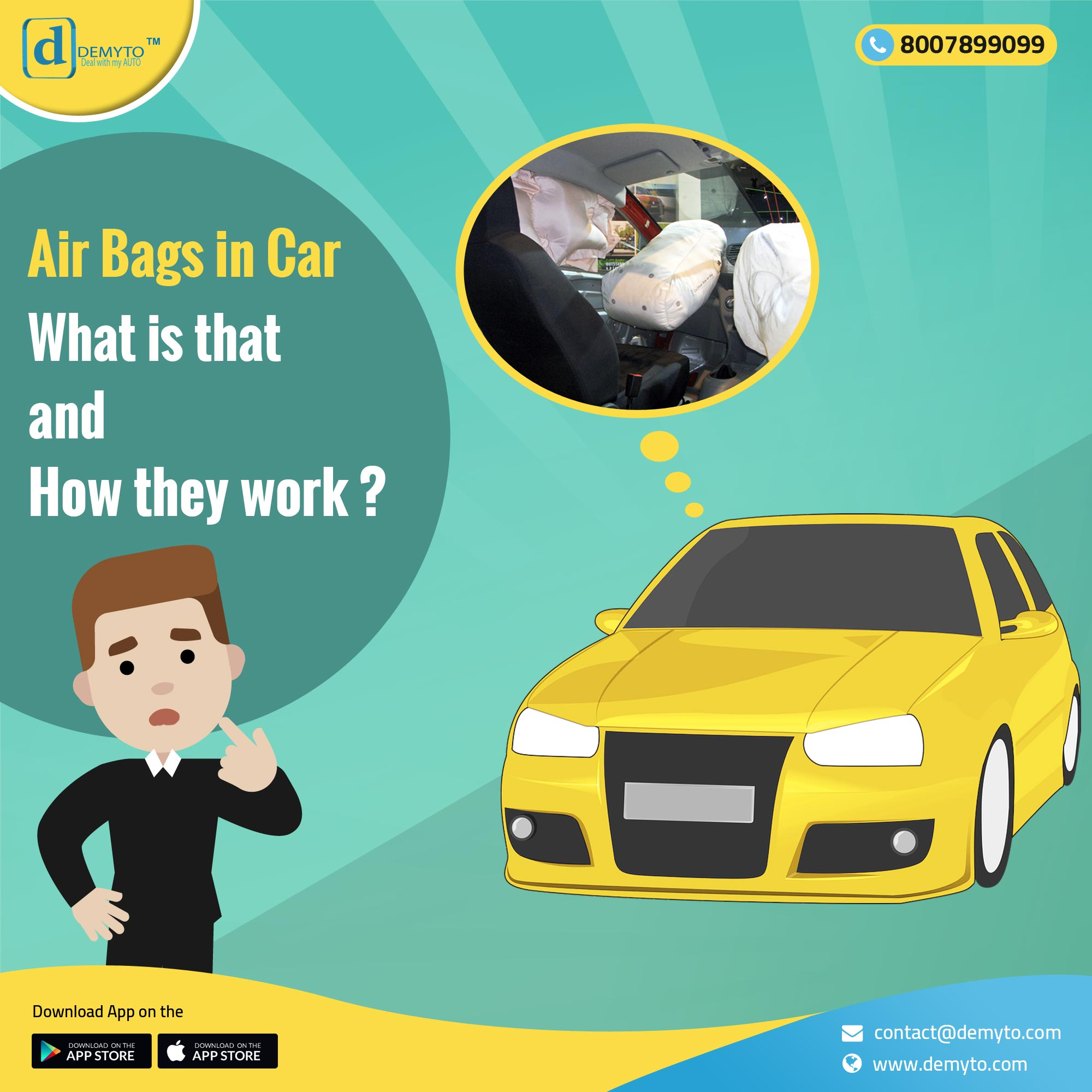 How can airbags be a life saver?