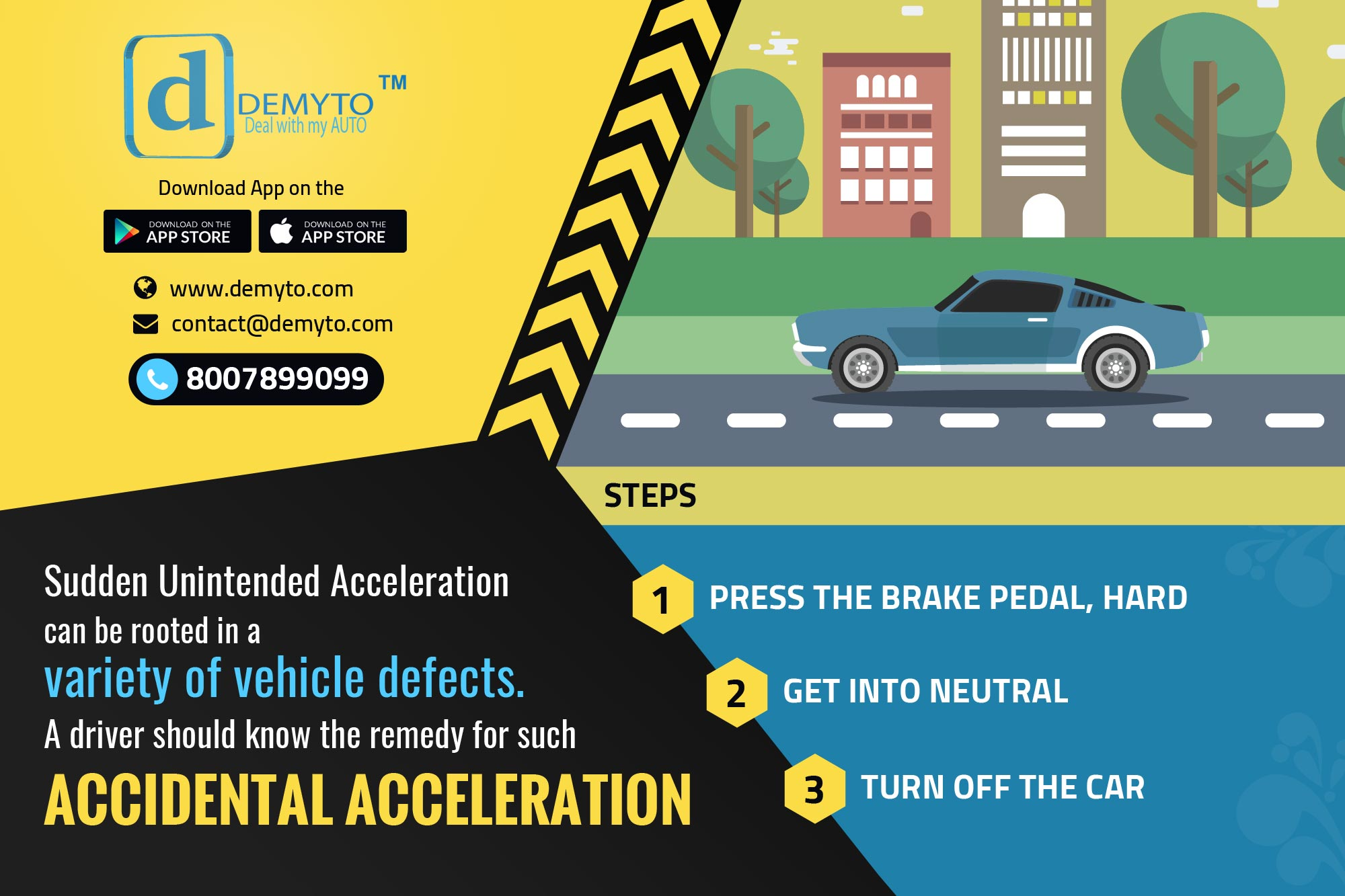A Rudimentary Strategy to Stop Sudden Unintended Acceleration